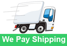 We pay Shipping